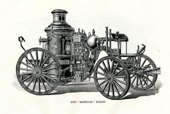 """New American"" engine, 1894"